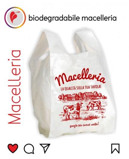 Sacchetti Biodegradabili Compostabili per Macelleria 500pz