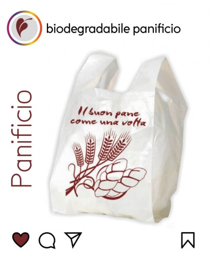 Sacchetti Biodegradabili Compostabili per Panificio 500pz