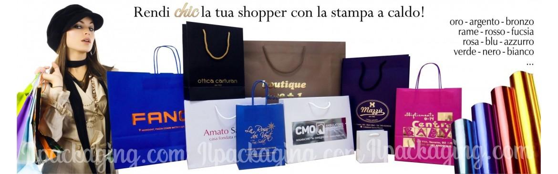 Stampiamo Shopper, Buste, Sacchetti Personalizzati.