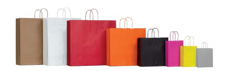 Buste, Shoppers, Sacchetti manici cordino