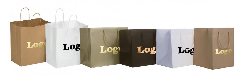 Buste, Shoppers, Sacchetti Take Away con Fondo Largo