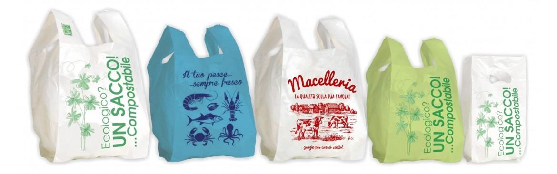 Produttore Sacchetti Biodegradabili Generici per Tutti i Settori