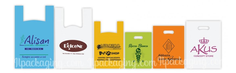 Sacchetti, Buste Biodegradabili Personalizzate per la tua Attività.